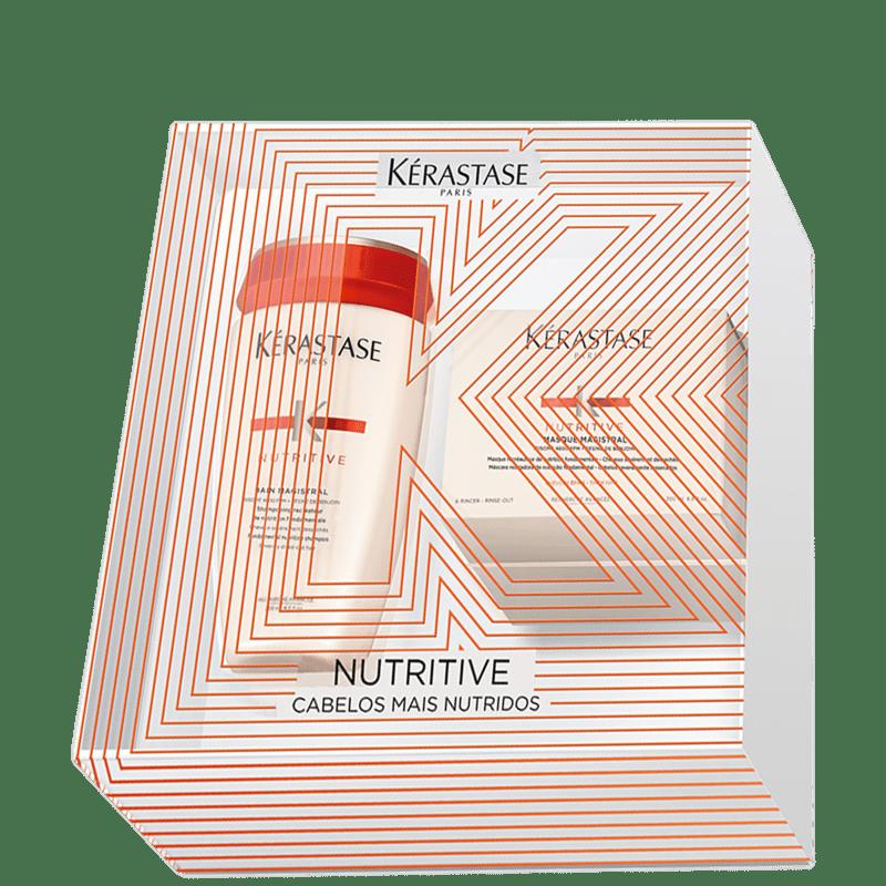 Kit Kérastase Nutritive Magistral Treatment Shampoo 250ml + Máscara 200g