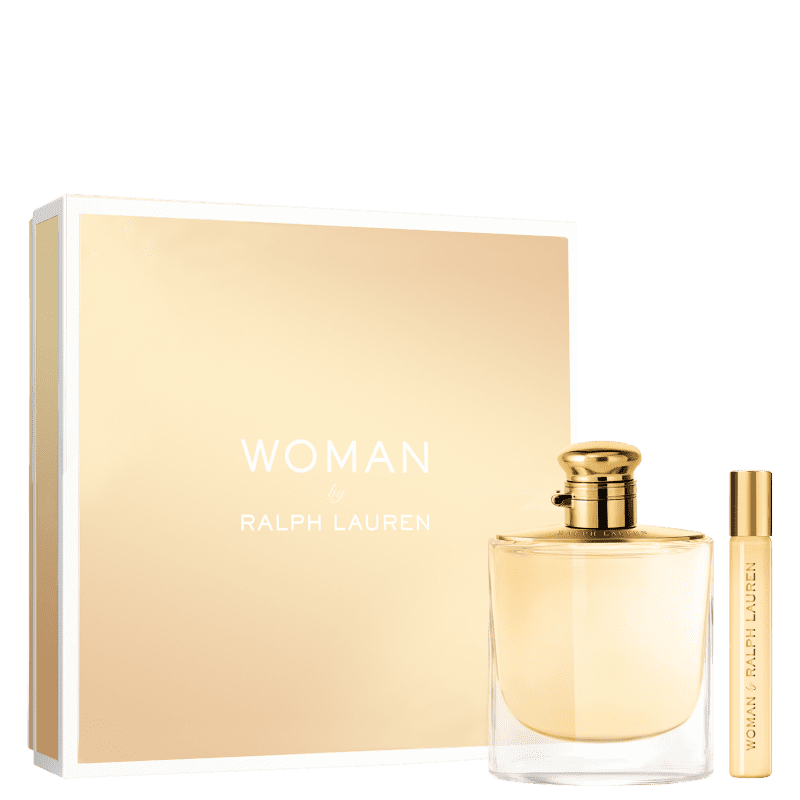 Conjunto Woman Ralph Lauren Feminino - Eau de Parfum 100ml + Rollerball 10ml