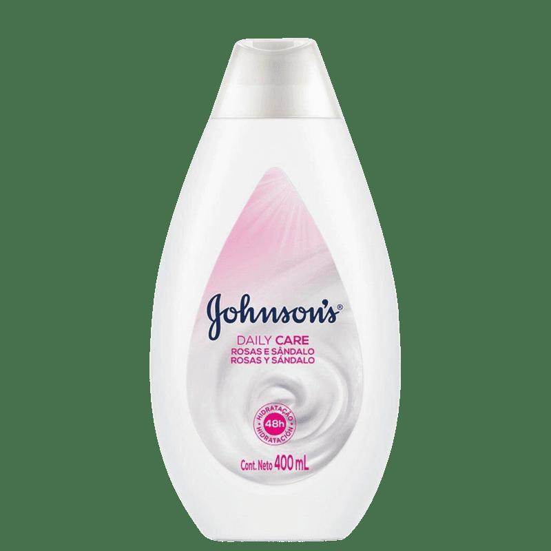 Johnson's Rosas e Sândalo - Loção Hidratante Corporal 400ml