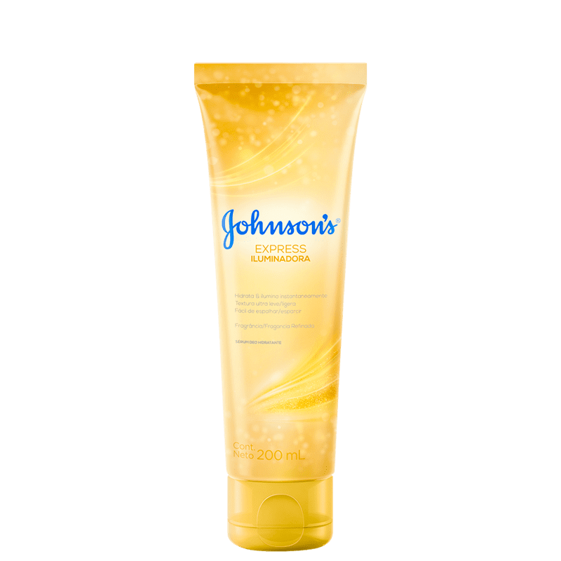 Johnson's Express Iluminadora - Sérum Hidratante Corporal 200ml