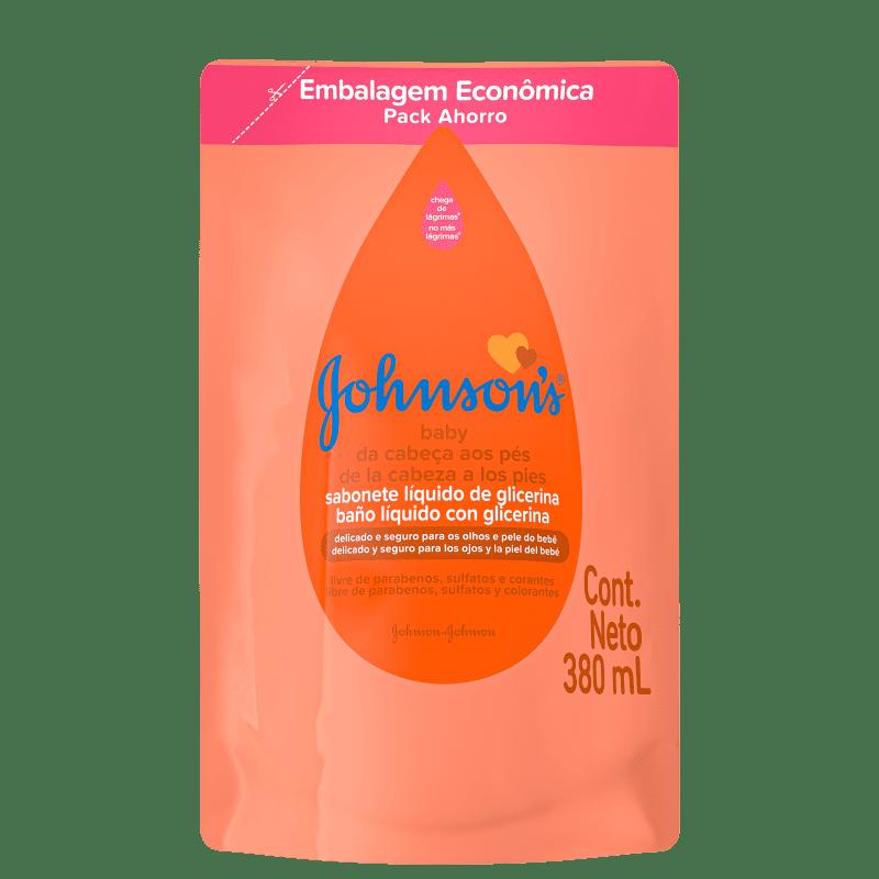 Johnson's Baby Da Cabeça Aos Pés Refil - Sabonete Líquido 380ml