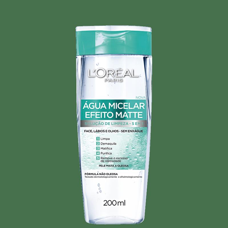 L'Oréal Paris Efeito Matte - Água Micelar 200ml