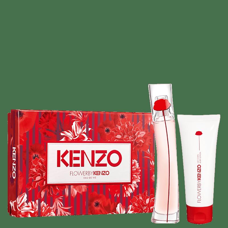 Conjunto Flower by Kenzo Eau de Vie Feminino - Eau de Parfum 30ml + Loção Corporal 75ml