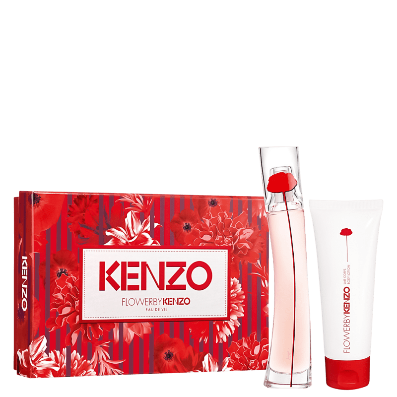 Kit Flower by Kenzo Eau de Vie Feminino Eau de Parfum 30ml + Loção Corporal 75ml