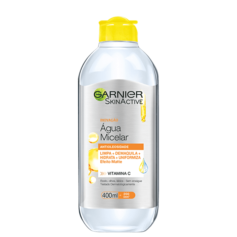 Garnier SkinActive Antioleosidade Vitamina C - Água Micelar 400ml