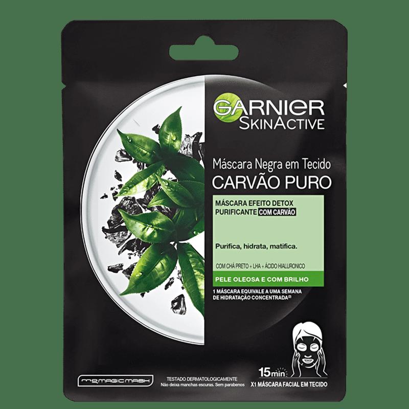 Garnier SkinActive Carvão Puro Efeito Detox - Máscara Facial 28g