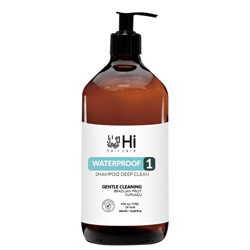 Hi Hair Care Waterproof 1 Deep Clean - Shampoo 500ml