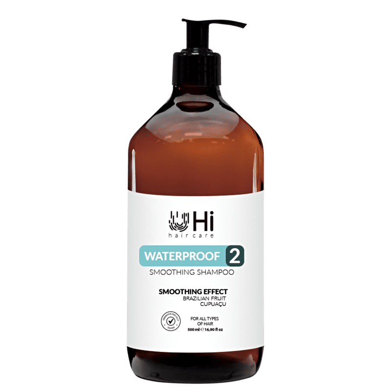 Shampoo Hi Hair Care Waterproof 2 Smoothing 500ml