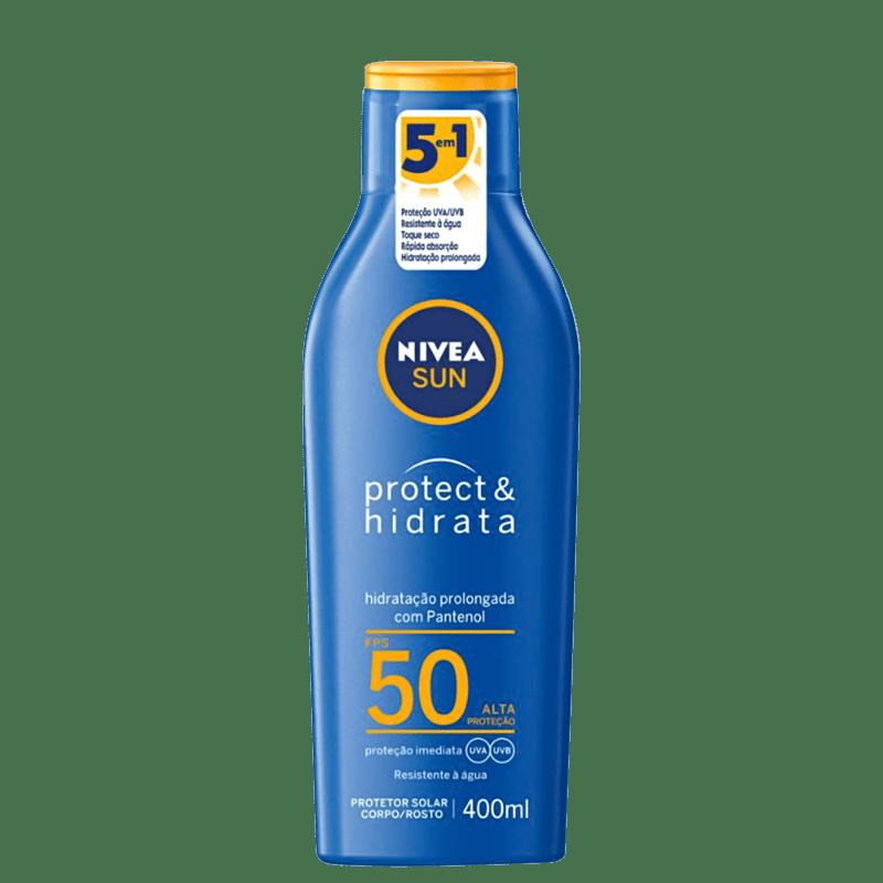 NIVEA Sun Protect & Hidrata FPS 50 - Protetor Solar 400ml