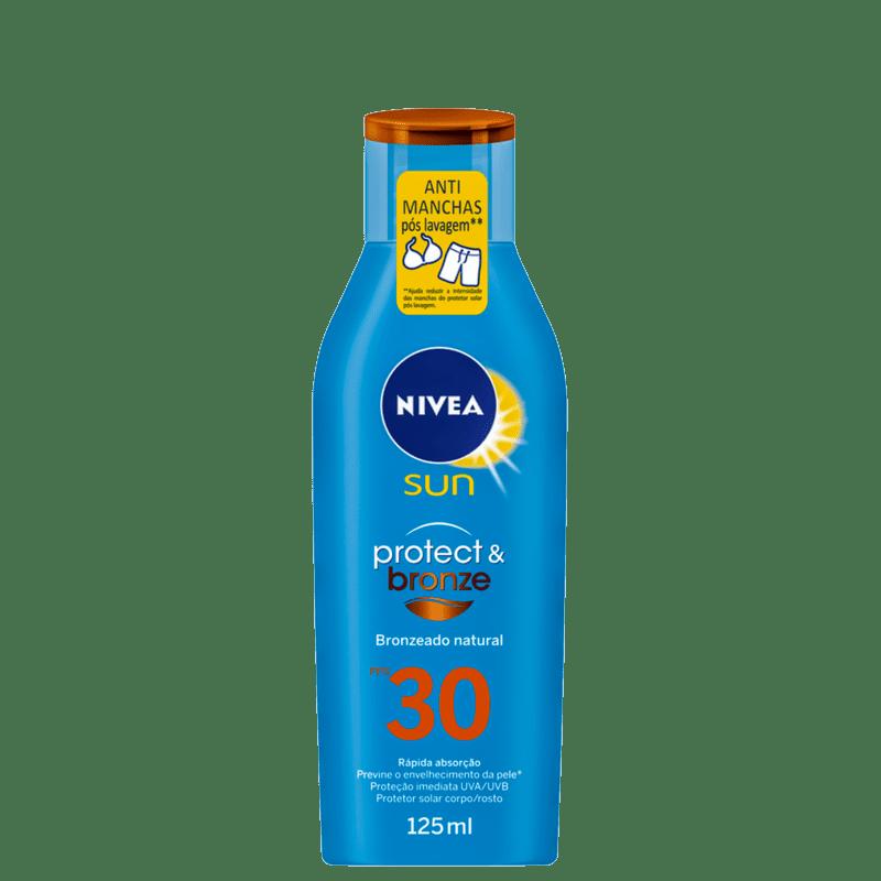 Protetor Solar NIVEA SUN Protect & Bronze FPS30 125ml