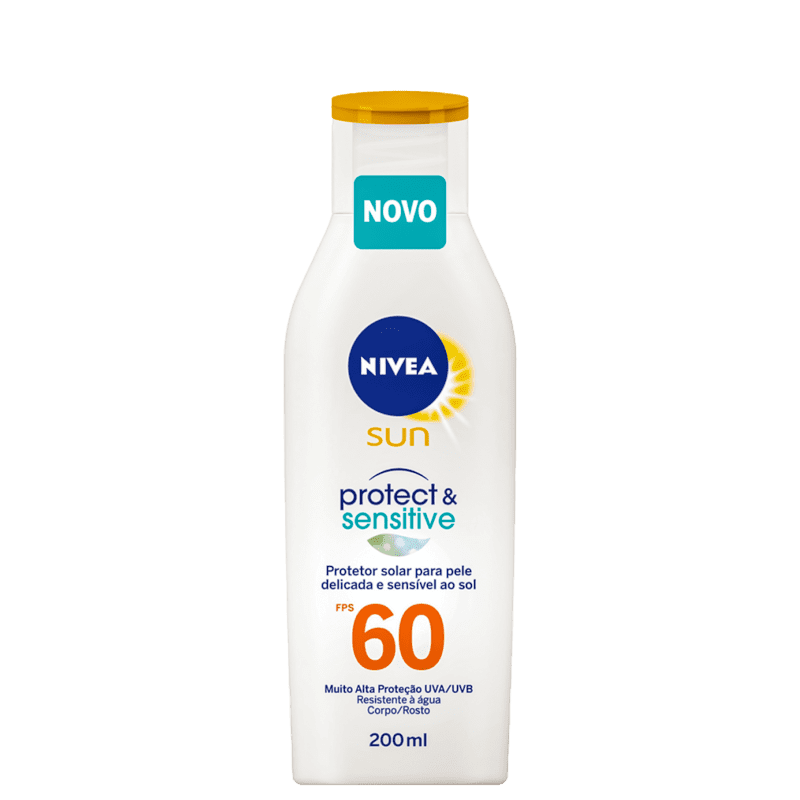 NIVEA SUN Protect & Sensitive FPS 60 - Protetor Solar 200ml