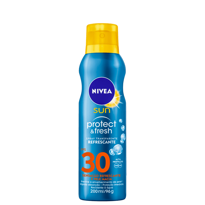 NIVEA SUN Protect & Fresh FPS 30 - Protetor Solar em Spray 200ml