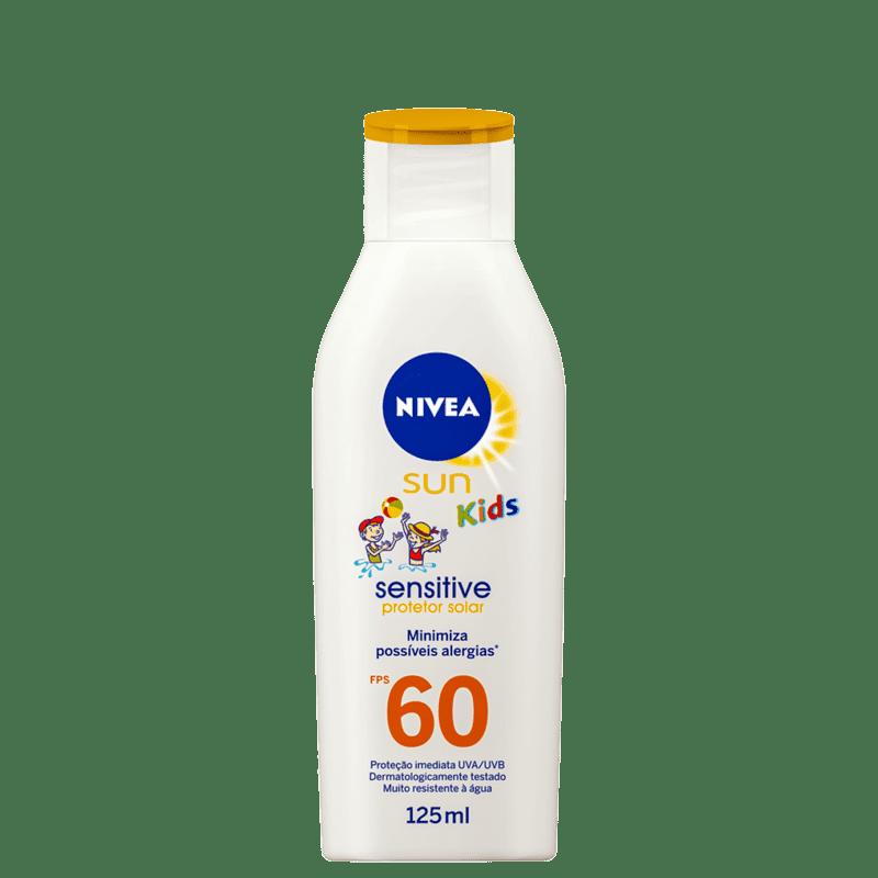 NIVEA SUN Kids Sensitive FPS 60 - Protetor Solar Infantil 125ml