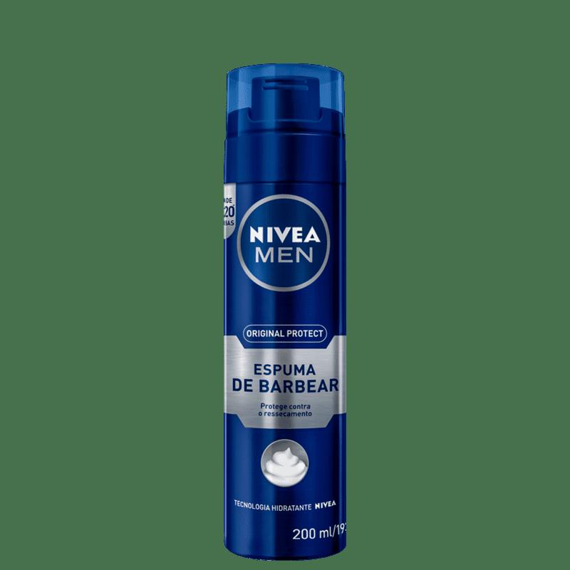 NIVEA MEN Original Protect - Espuma de Barbear 200ml