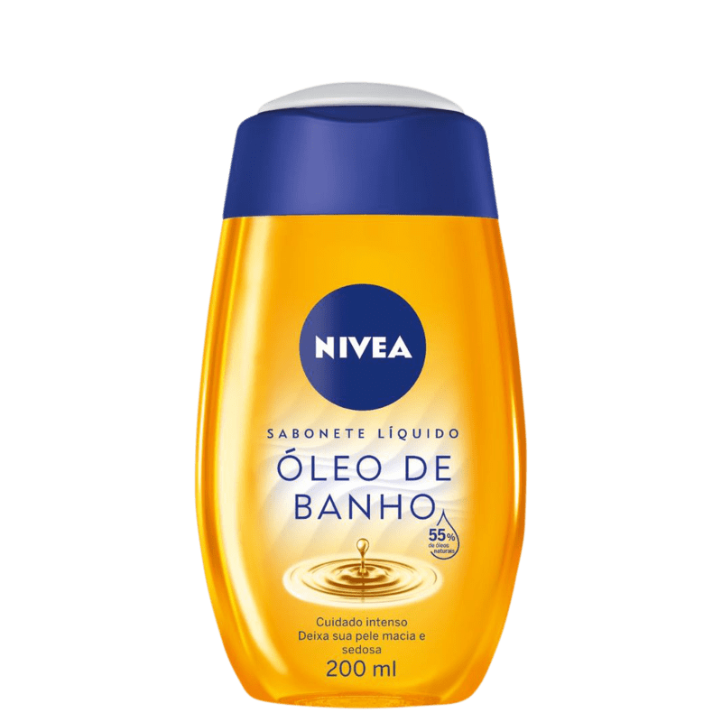 NIVEA Natural Oil - Sabonete Líquido 200ml