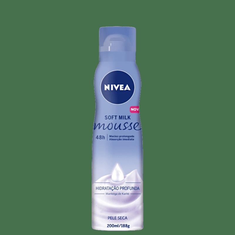 NIVEA Soft Milk - Mousse Hidratante Corporal 200ml