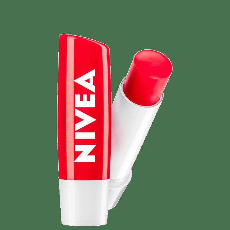 NIVEA Shine Morango - Protetor Labial 4,8g