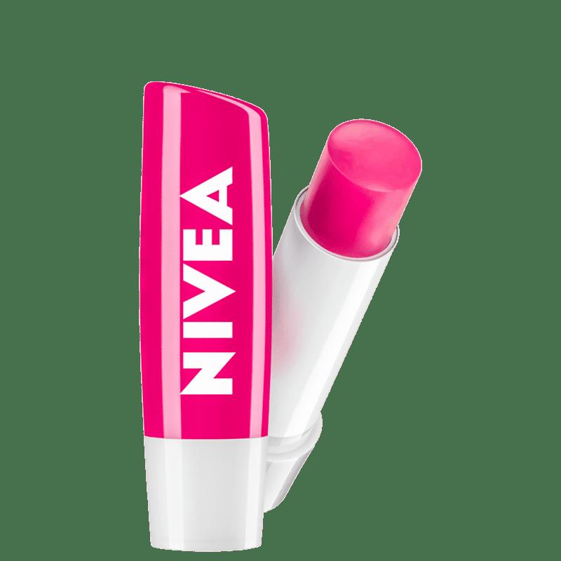 Protetor Labial NIVEA Shine Melancia 4,8g