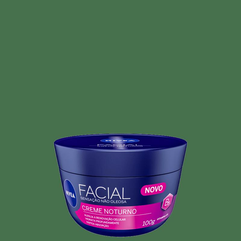 NIVEA Creme Noturno - Hidratante Facial 100g