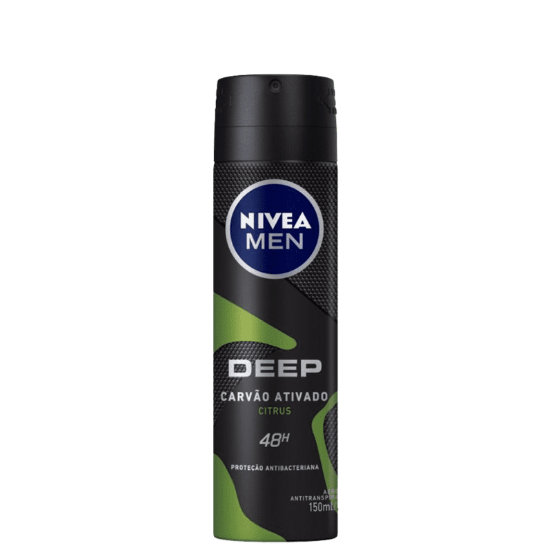 NIVEA Men Deep Citrus Aerossol - Desodorante Masculino 150ml