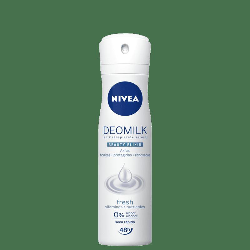 NIVEA Deomilk Beauty Elixir Fresh Aerossol - Desodorante Feminino 150ml