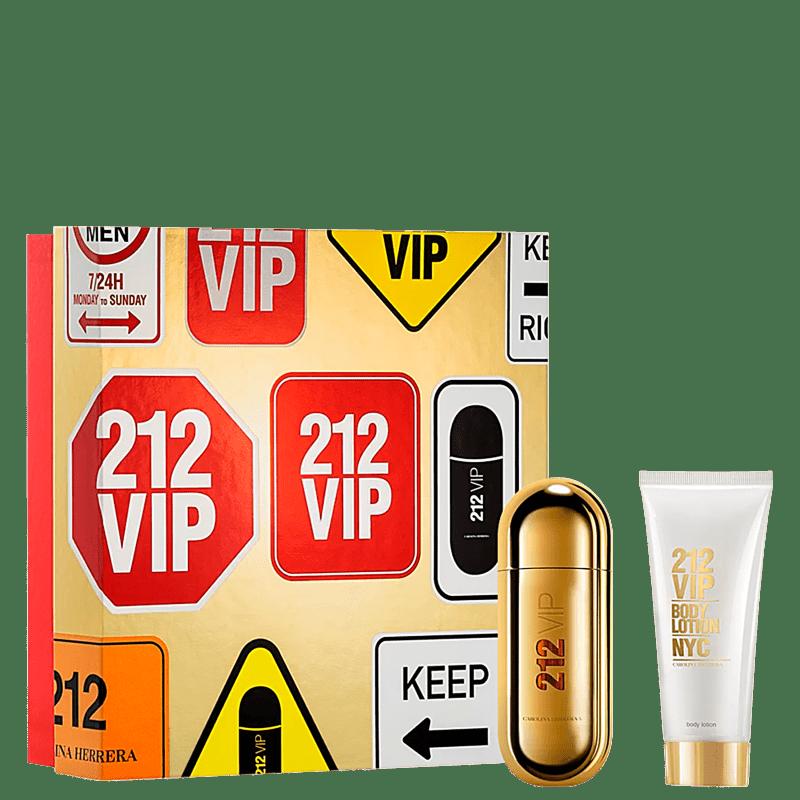Conjunto 212 VIP Carolina Herrera - Eau de Parfum 50ml + Loção Corporal 75ml
