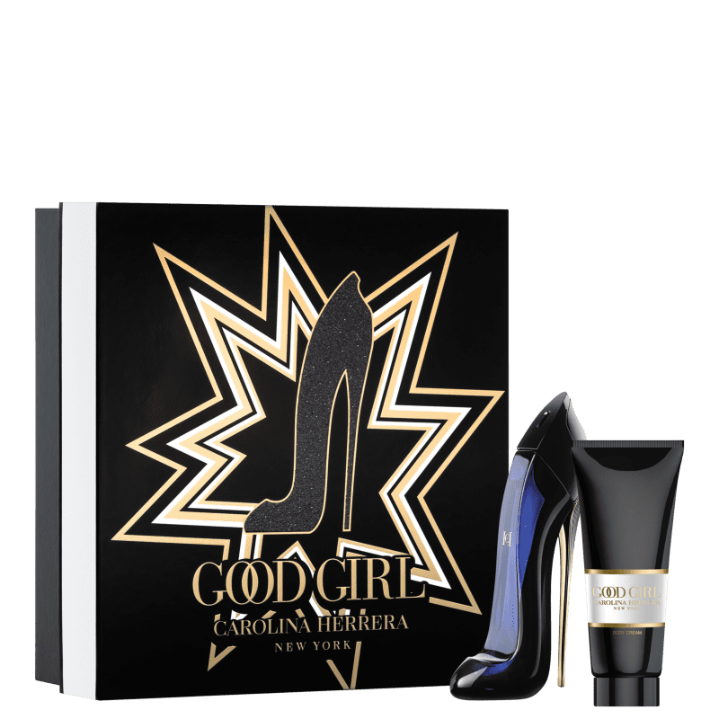 Conjunto Carolina Herrera Good Girl Eau de Parfum - Perfume 80ml + Loção Corporal 100ml