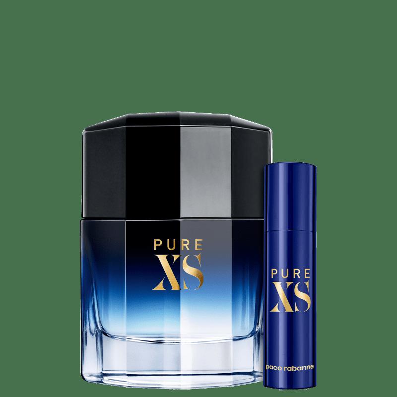 Conjunto Pure XS Paco Rabanne Eau de Toilette - Perfume 50ml + Travel Size 10ml