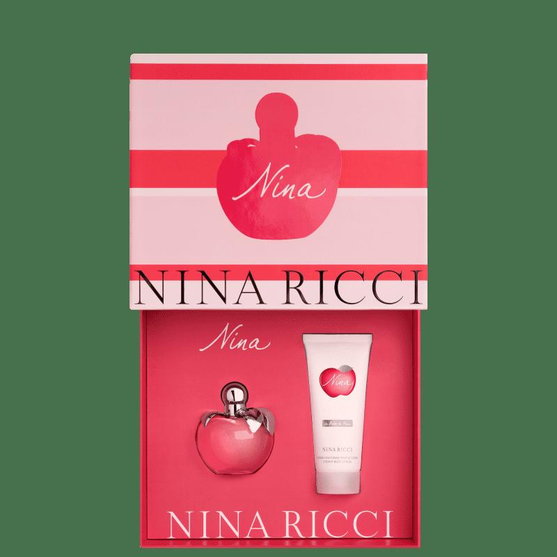 Conjunto Nina Nina Ricci - Eau de Toilette 80ml + Loção Corporal 100ml