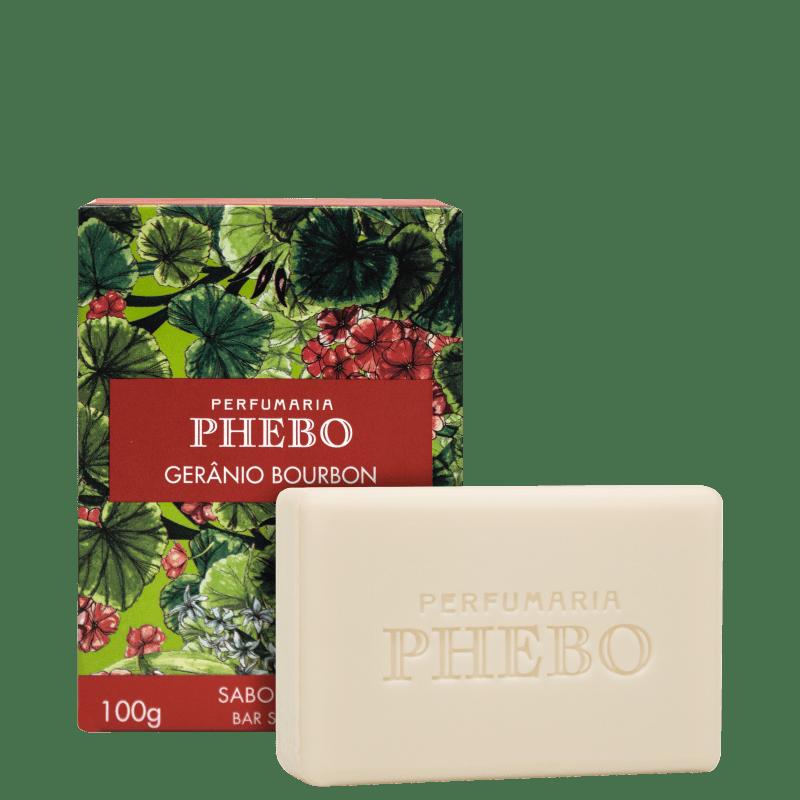 Phebo Mediterrâneo Gerânio Bourbon - Sabonete em Barra 100g