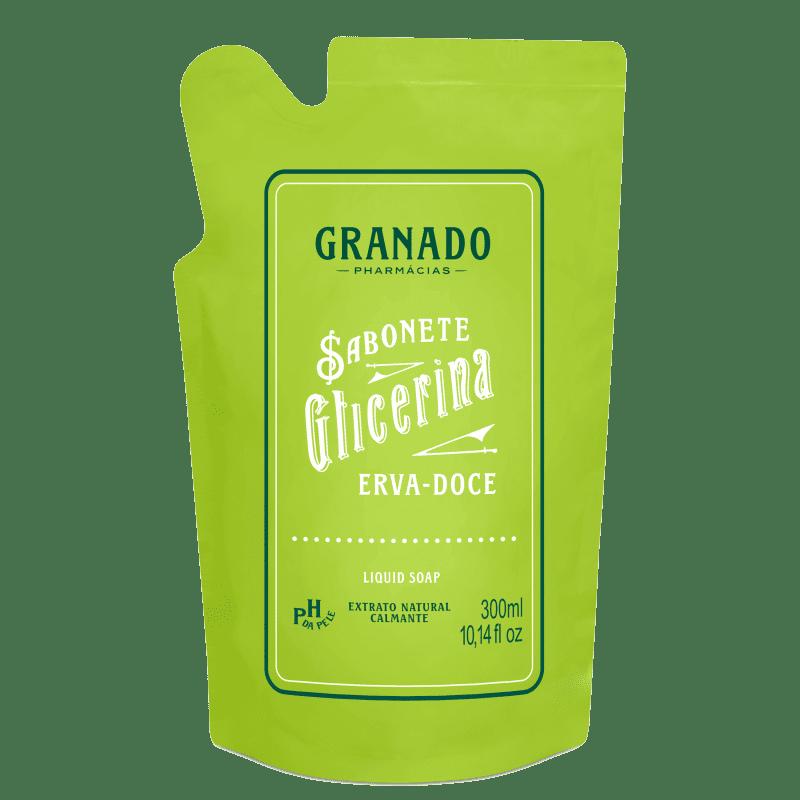 Granado Glicerina Erva-doce Refil - Sabonete Líquido 300ml