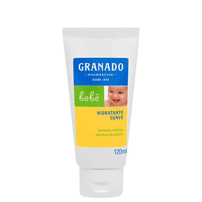 Granado Bebê Suave Tradicional - Hidratante 120ml
