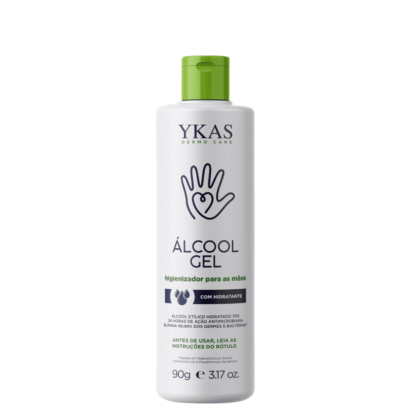 Ykas Hidratante - Álcool em Gel 90g