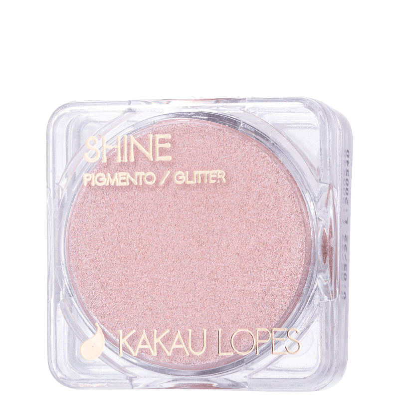 Pigmento Cintilante Kakau Lopes Shine Rose 1,5g