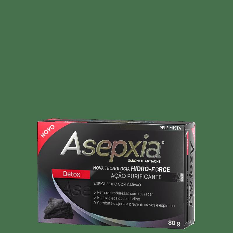 Asepxia Detox - Sabonete em Barra Facial 80g