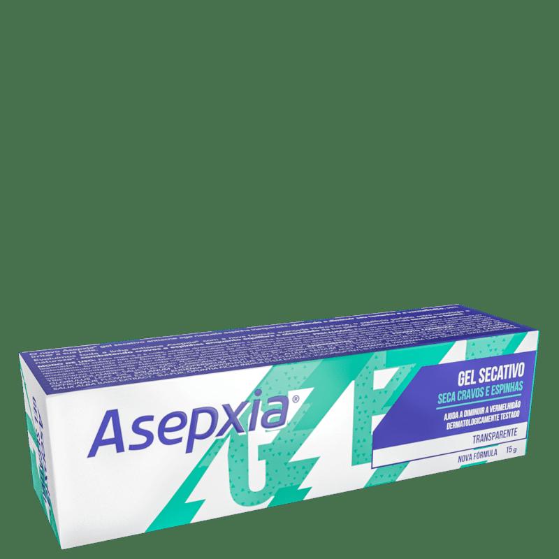 Asepxia Transparente - Gel Secativo para Acne 15g