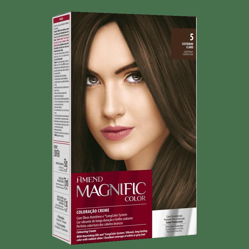 Amend Magnific Color 5 Castanho Claro - Coloração 200g