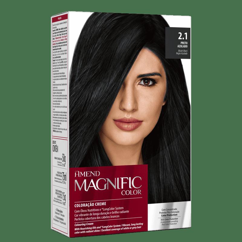 Amend Magnific Color 2.1 Preto Azulado - Coloração 200g