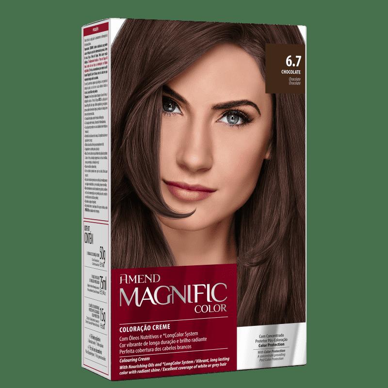 Amend Magnific Color 6.7 Chocolate - Coloração 200g