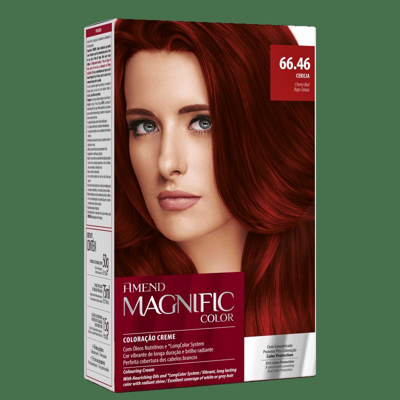 Amend Magnific Color 66.46 Cereja - Coloração 200g