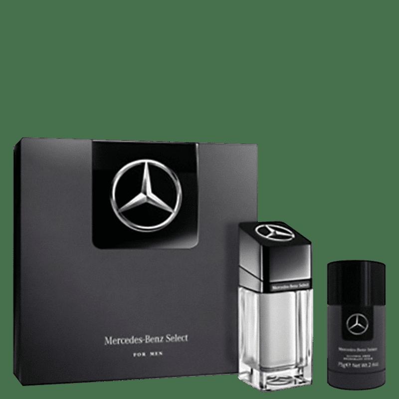 Conjunto Select For Men Mercedes-Benz - Eau de Toilette 100ml + Desodorante 75g