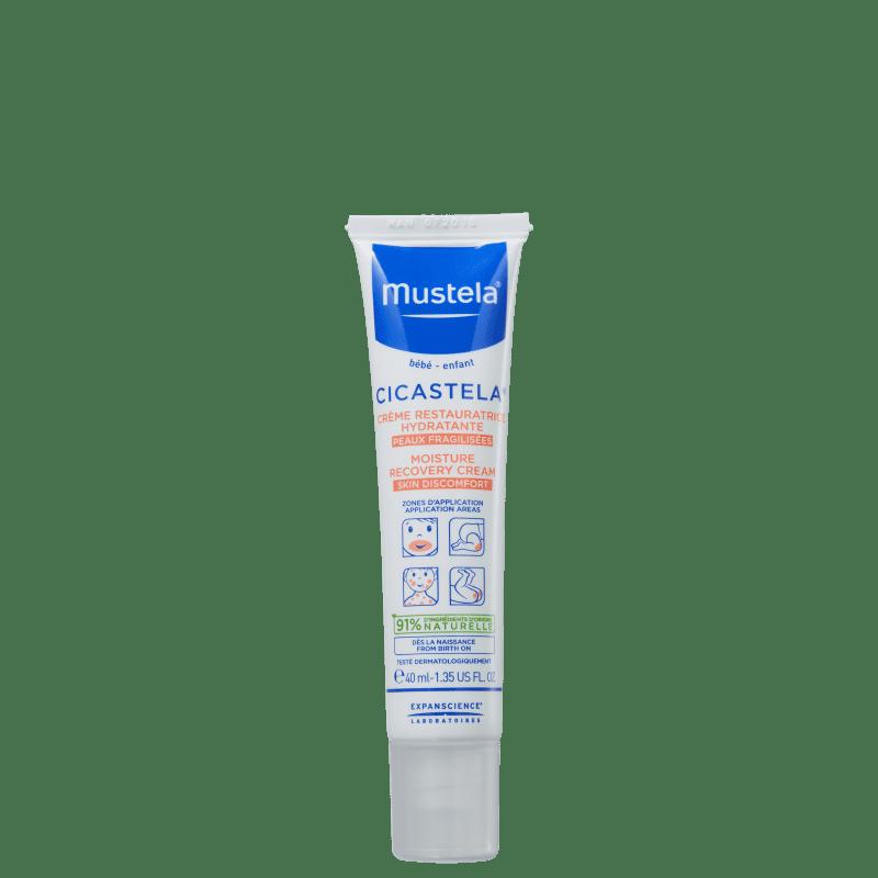 Creme Hidratante Reparador Mustela Cicastela 40ml