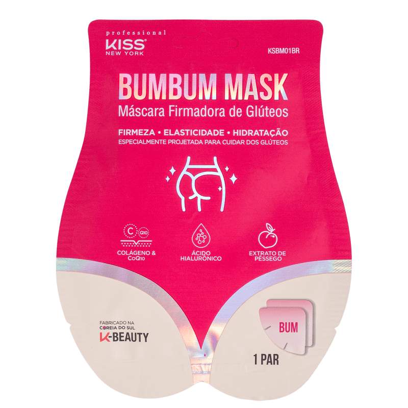Kiss New York Bumbum Mask - Firmador 40g