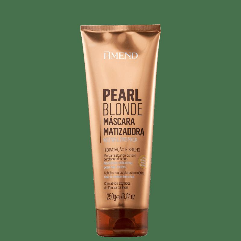 Amend Pearl Blonde - Máscara Matizadora 250g