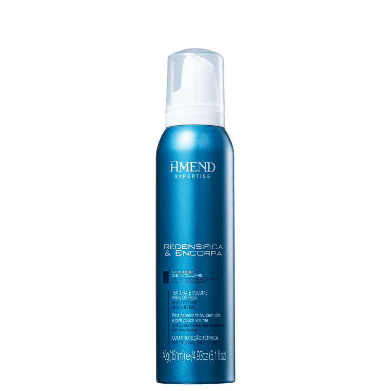 Amend Expertise Redensifica & Encorpa - Mousse Volumadora 151ml