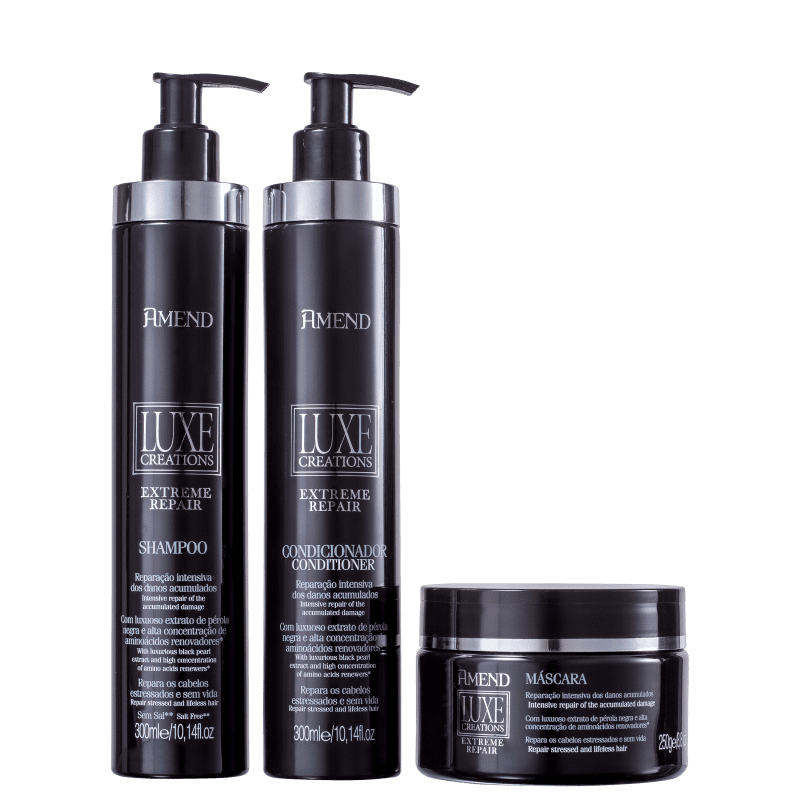 Kit Amend Luxe Creations Extreme Repair Jewelry (4 Produtos)