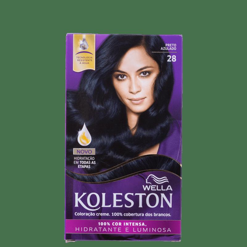 Koleston 28 Preto Azulado - Coloração Permanente