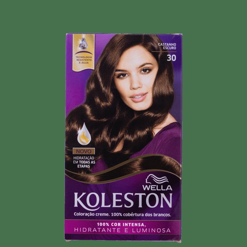 Koleston 30 Castanho Escuro - Coloração Permanente