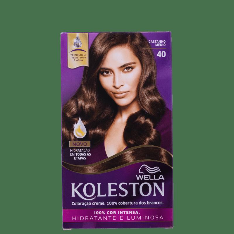 Koleston 40 Castanho Médio - Coloração Permanente
