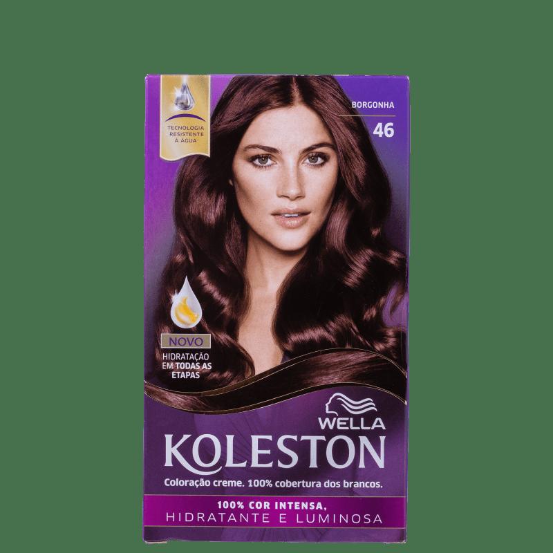 Koleston 46 Borgonha - Coloração Permanente